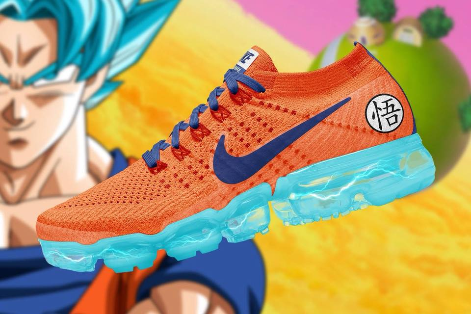 Nike Air VaporMax + Dragon Ball Super – nosotros los diseñadores